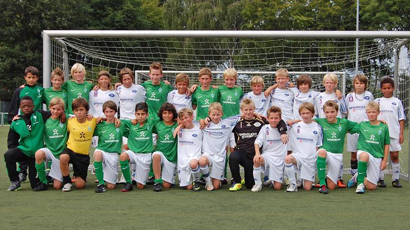 Testspiel bei Werder