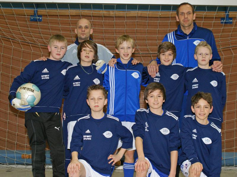 U12 belegt 4. Platz beim Turnier in Heidmühle