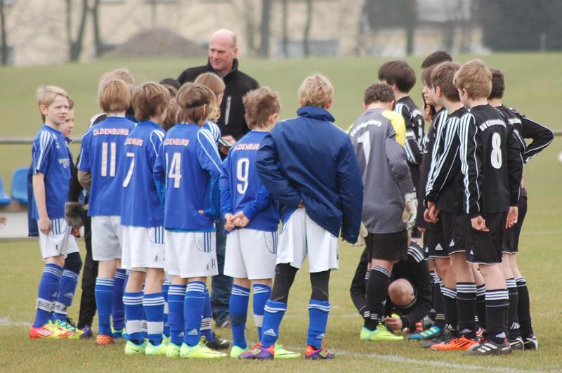 Sieg im Testspiel gegen BV Cloppenburg U13