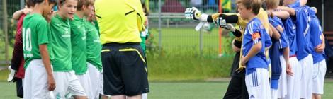 Neue VfB U13 mit ersten Testspielen auf Großfeld