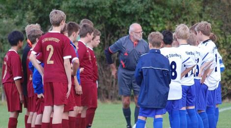 U13 spielt starkes Spiel gegen Harpstedt